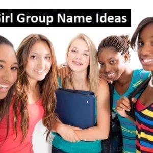50+ Cute Girl Group Name Ideas