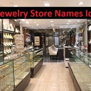 Jewelry Store Names Ideas Give A Good Name
