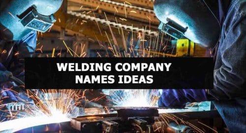 Welding Company names Ideas